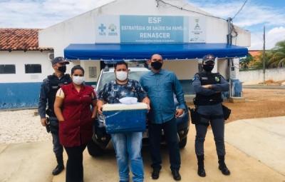 Araguaiana dá início à campanha de vacinação contra Covid-19