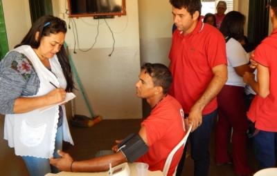 Secretaria Municipal de Saúde de Araguaiana em parceria com a Fazenda Jacarandá do Grupo Valim realizam o 1º SIPATR .