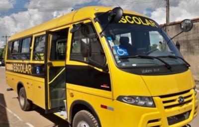 Prefeitura Municipal de Araguaiana - Gestão 2017/2020 consegue, junto ao Governo Federal, mais um Ônibus para o transporte dos alunos nas Escolas Municipais e Estaduais.