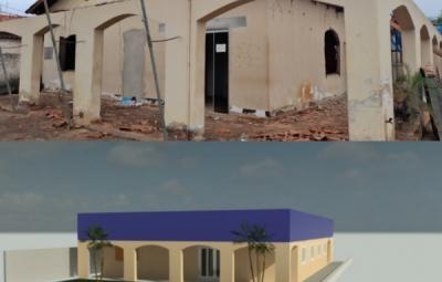 Secretaria Municipal de Obras dá início as Obras de reforma e Ampliação no prédio da Prefeitura Municipal.